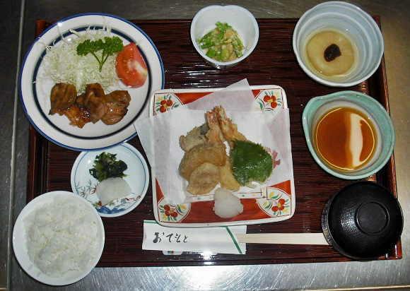 夕食一例2