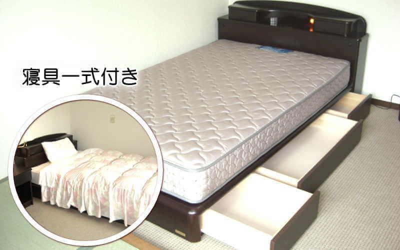 クレイドル梅田 ベッド(寝具付き)